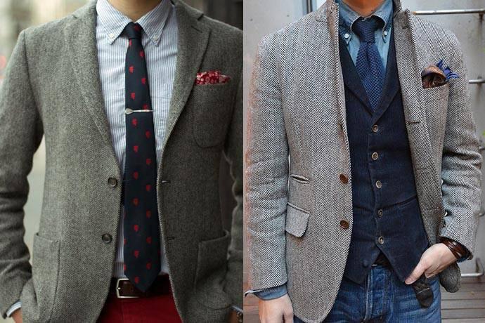 訂做灰色西裝外套